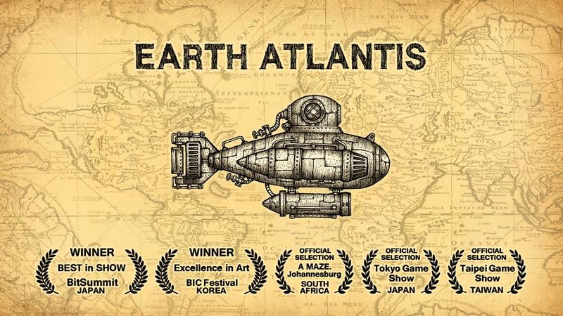 Earth Atlantis เกมมือถือฝีมือคนไทย เปิดวางจำหน่ายบน iOS แล้ววันนี้