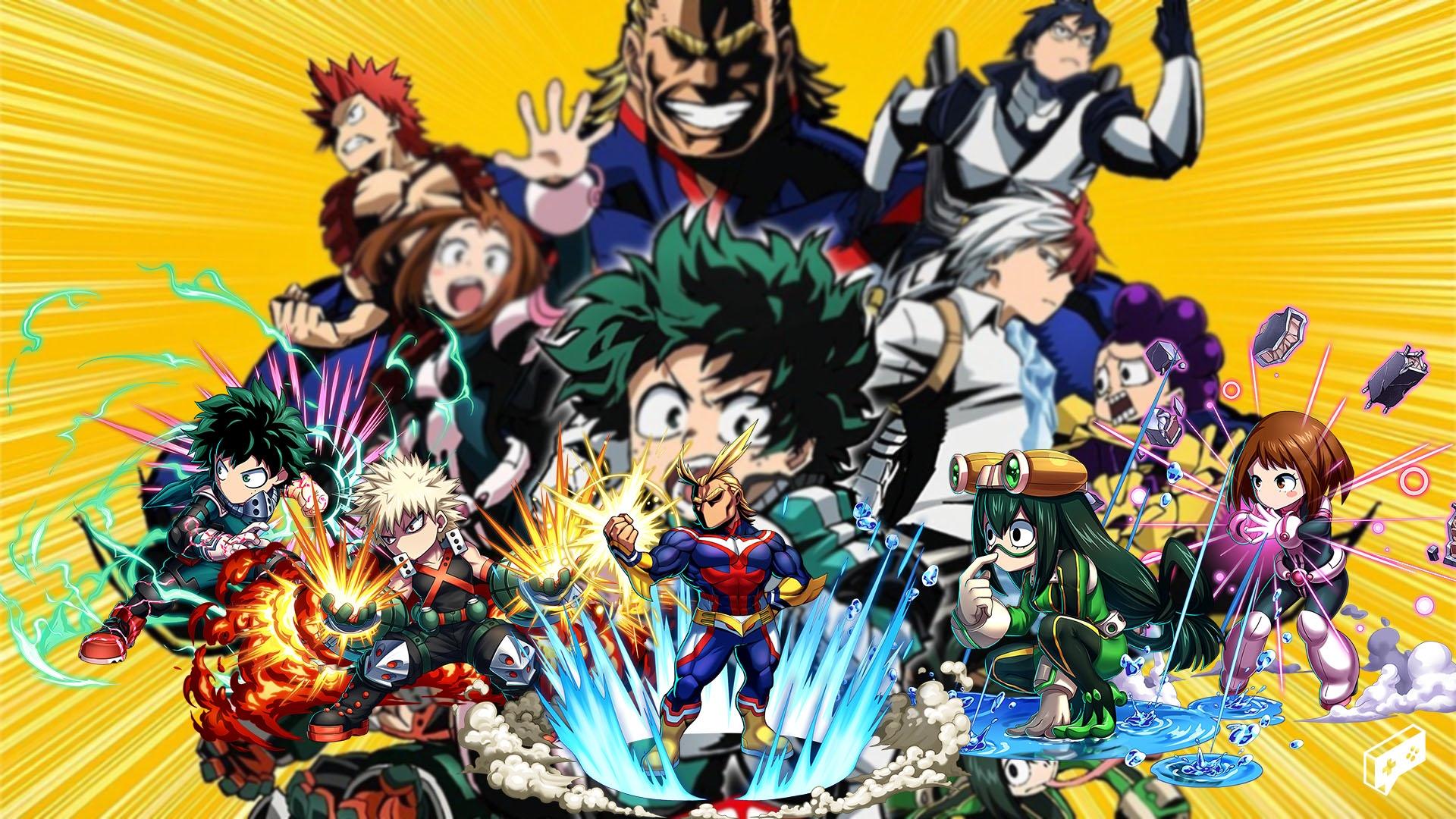 My Hero Academia x Brave Frontier 00