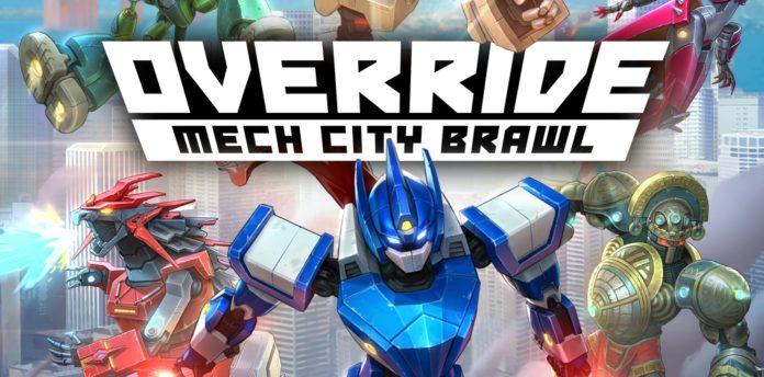Override: Mech City Brawl เกมปาร์ตี้ Co-op หุ่นรบ 4 vs 4