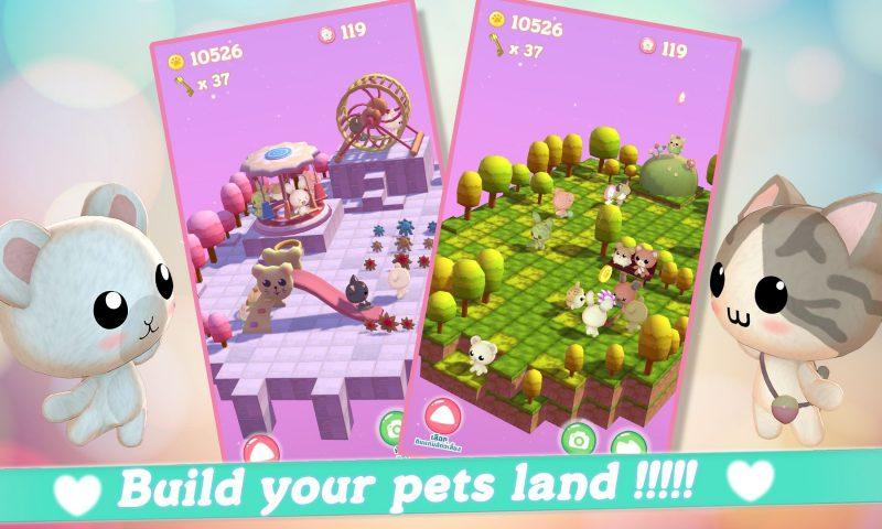GAWOONI เปิดตัวเกมมือถือใหม่ Pet Pet Rush สุดน่ารัก