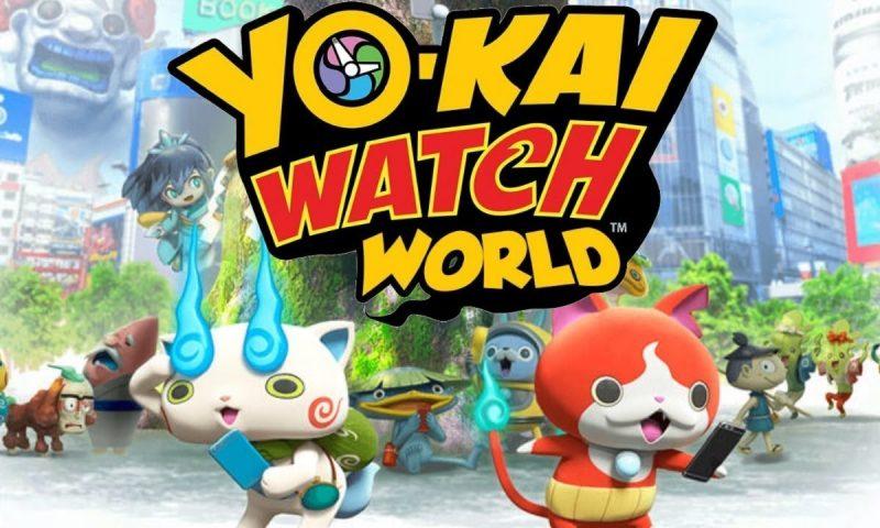 เปิดโหลดแล้ว Level-5 ชวนล่าท้าผีโยไก Yo-kai Watch World