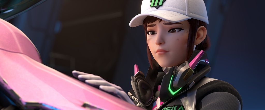 """Shooting Star"""" centers around Korea's favorite professional gamer and star of the MEKA squad D.Va"""