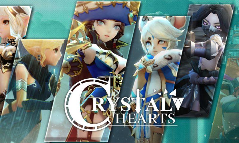 Crystal Hearts เวอร์ชั่นญี่ปุ่นเปิดให้ดาวน์โหลดแล้ววันนี้