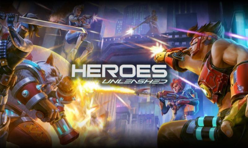 Heroes Unleashed เกมมือถือแนว MOBA ผสม FPS เปิดทดสอบแล้ววันนี้