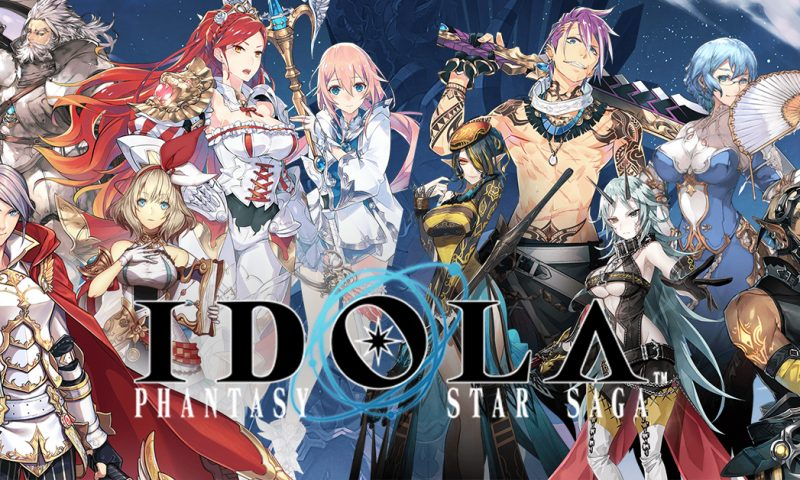 Idola Phantasy Star Saga สตรีมสดโชว์ระบบภายในเกมที่น่าสนใจ
