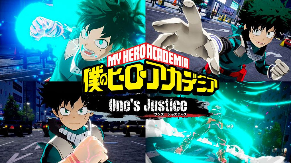 My Hero One Justice Trailer