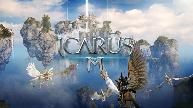 ไปขี่มังกรทะยานฟ้ากัน Icarus M เกมเทพ MMORPG ลงสโตร์แล้วจ้า