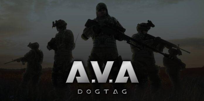 AVA Dog Tag