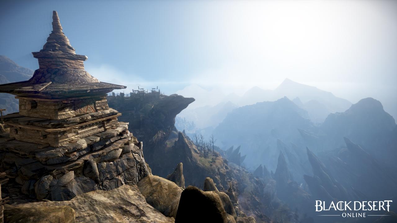 Black Desert Online Drieghan environment screenshot 1