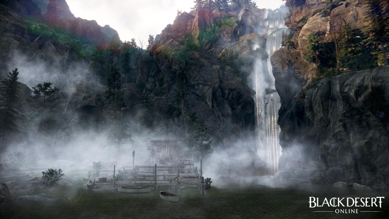 Black Desert Online Drieghan environment screenshot 2