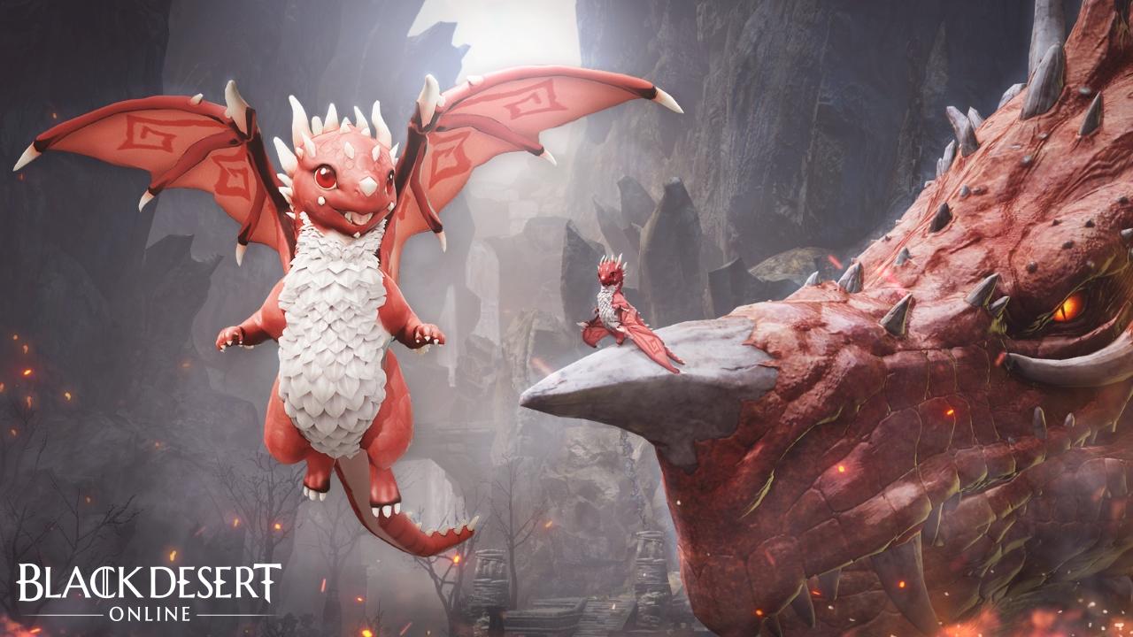 Black Desert Online Garmoth the Crimson Dragon pet