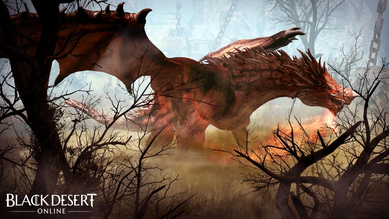 Black Desert Online Garmoth the Crimson Dragon
