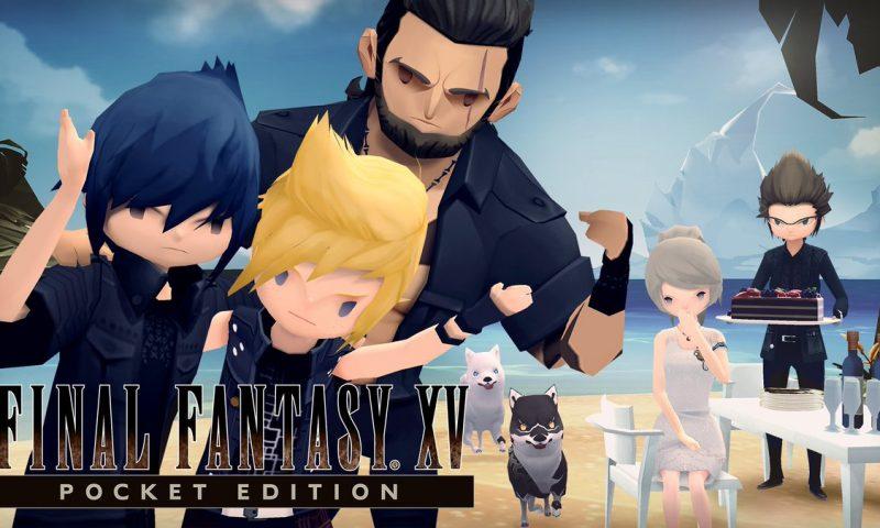 เก็บทุกเม็ด Square Enix เตรียมส่ง Final Fantas XV Pocket Edition ลง PS4