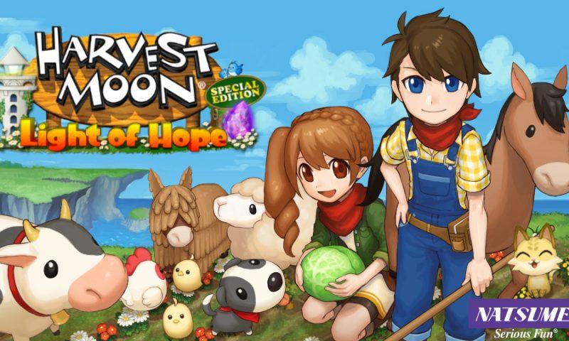 ซีรีส์ปลูกผักยอดฮิต Harvest Moon ภาค Light of Hope ลงสโตร์ IOS