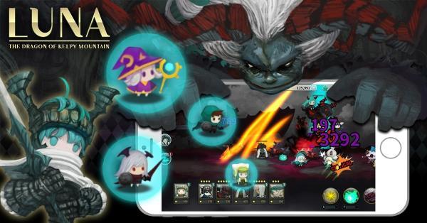 เปิดตัว Luna: The Dragon of Kelpy Mountain เกมมือถือ 2D RPG แดนกิมจิ
