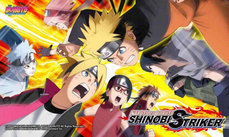 ทีม 7 ยังต้องกลัวเมื่อเกมเมอร์รวมตัวภายในเกม Naruto to Boruto: Shinobi Striker