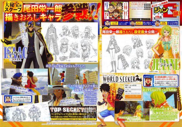 One Piece World Seeker Scan 09 12 18