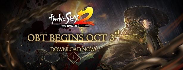 นับเวลาถอยหลัง TwelveSky2: The Limitless เตรียมเปิด OBT 3 ตุลาคม