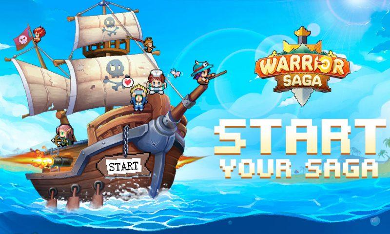 Warrior Saga เกมมือถือแนว Pixel เปิดให้ดาวน์โหลดแล้ววันนี้