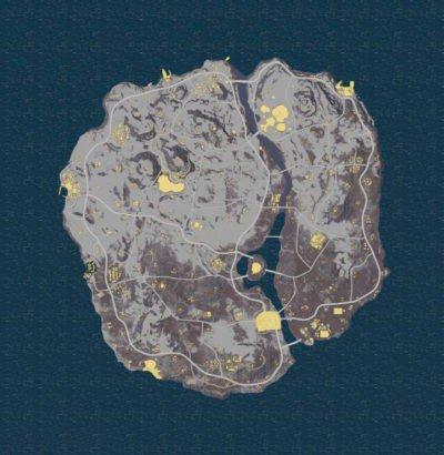 pubg snow map datamine roads