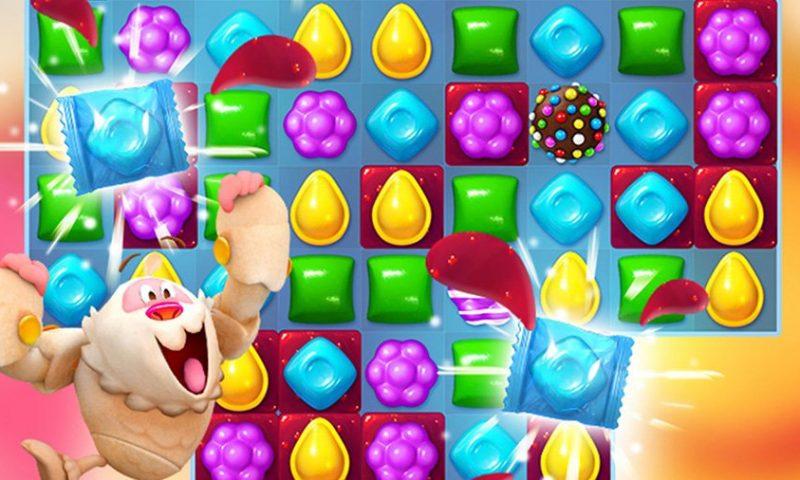 ภาคใหม่ Candy Crush Friends Saga เกมมือถือขวัญใจมหาชล