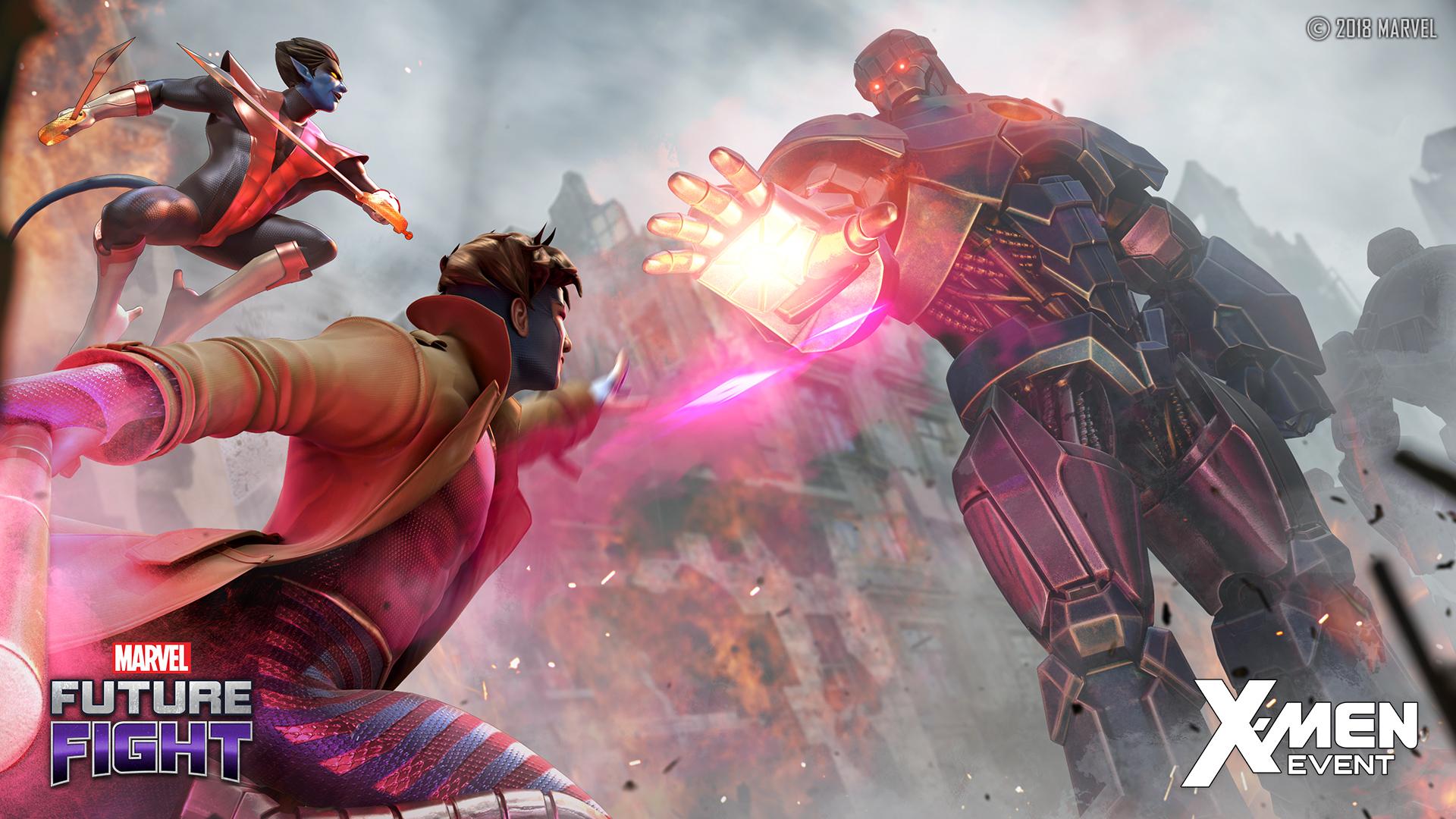 Image Marvel Future Fight X Men Event