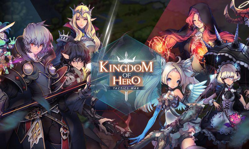 Kingdom of Hero: Tactics War เกมมือถืองานภาพเทพประกาศวันเปิดให้บริการ