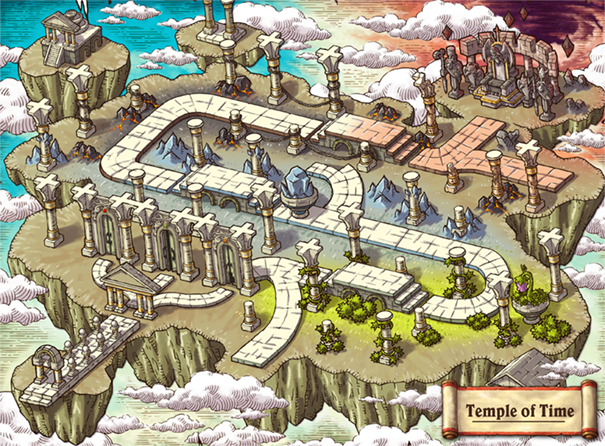 MapleStory M New World Temple of Time