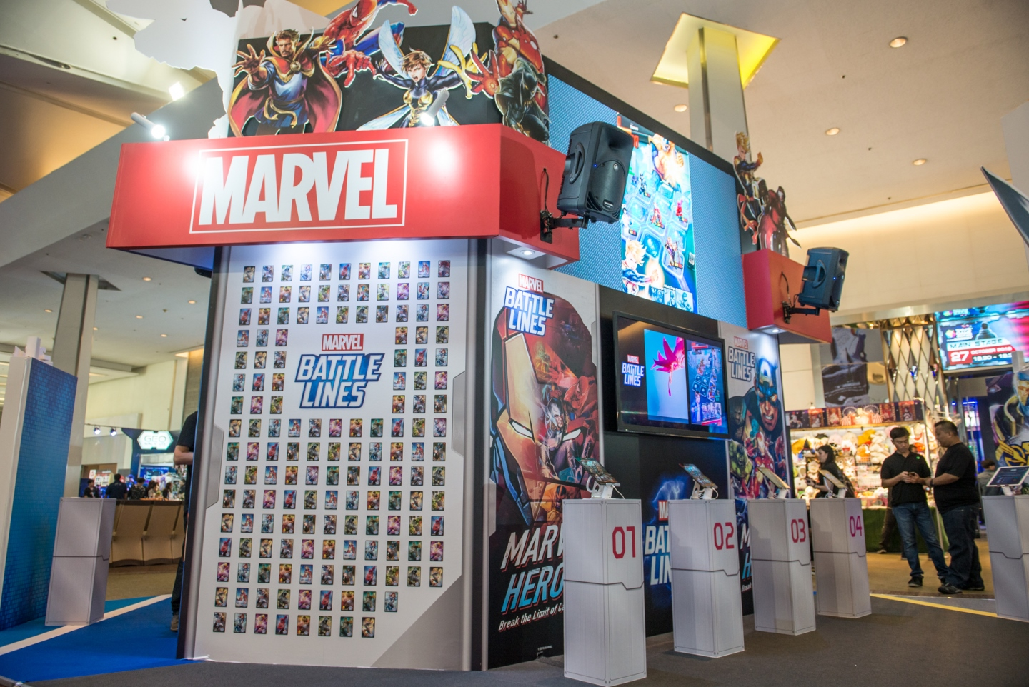 Marvel Booth at TGS