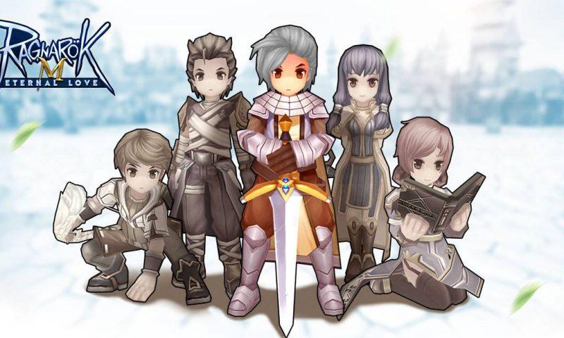 Ragnarok Mobile: Eternal Love อาชีพตัวละครเบื้องต้นภายในเกม