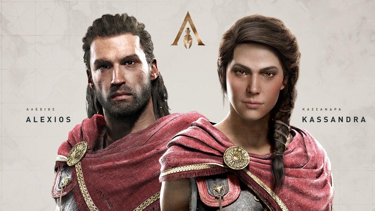assassins creed origins protags