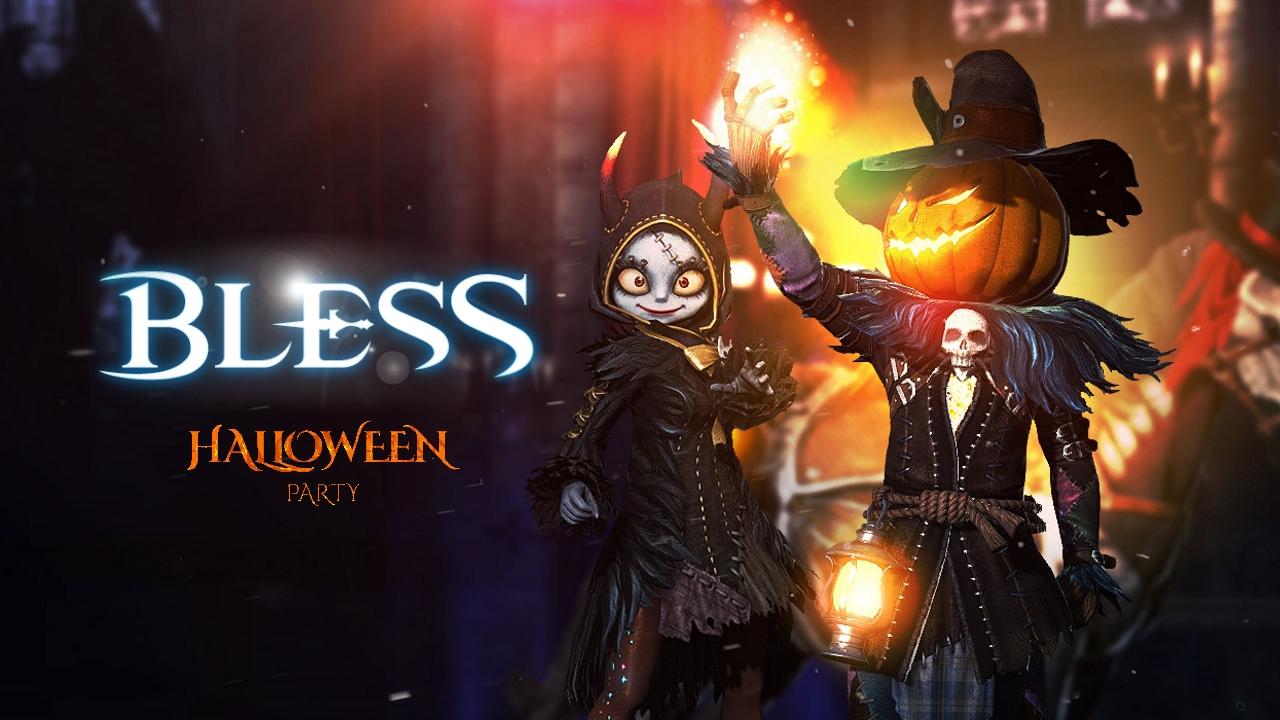 bless online halloween