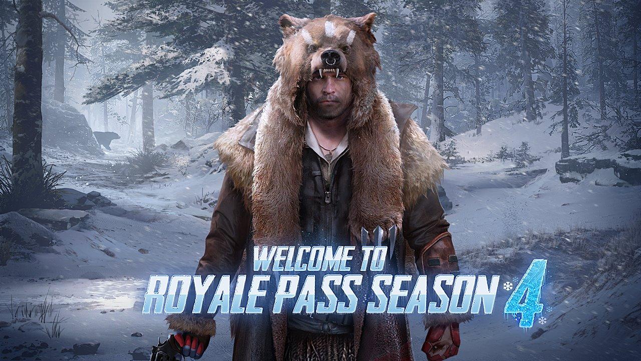 Banner Royale Pass Season 4