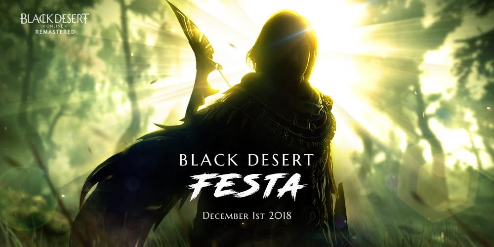 Black Desert Online Festa 2018