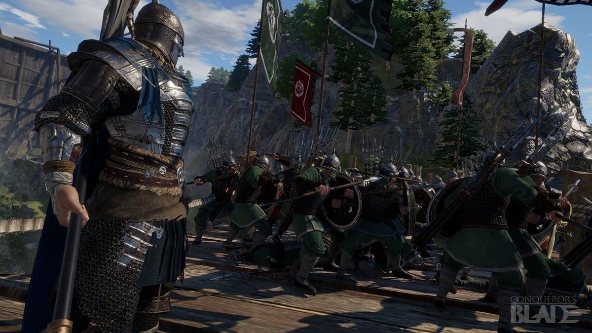 Conquerors Blade Announcement screenshot 1