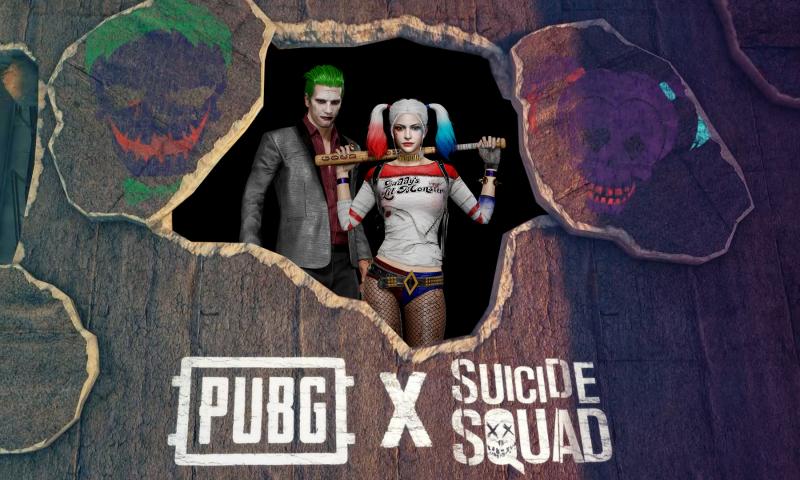 PUBG จับมือ Suicide Squad ปล่อย 2 วายร้ายร่วมแจมในสนามรบพับจี