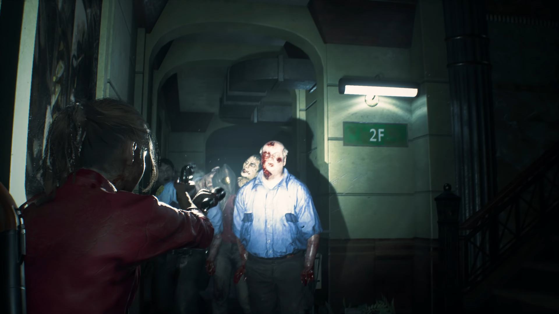 resident evil 2 gets story trailer first look at ada wong