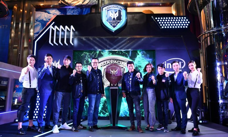 Acer ประกาศเตรียมเป็นเจ้าภาพ Asia Pacific Predator League 2019