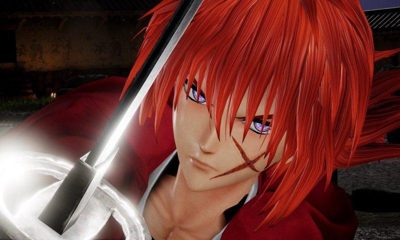 Jump Force เผยฉากบู้สุดมันส์ของ Kenshin และ Makoto จาก ซามูไรพเนจร