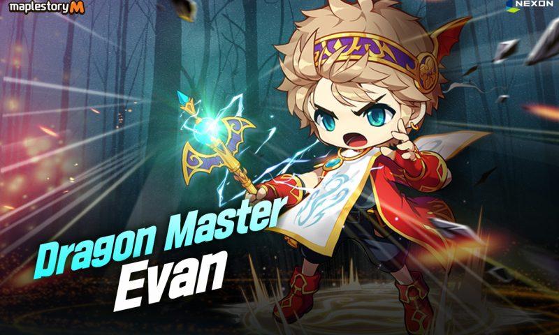MapleStory M อัพเดทอาชีพใหม่ Evan หนุ่มน้อยเลี้ยงมังกร