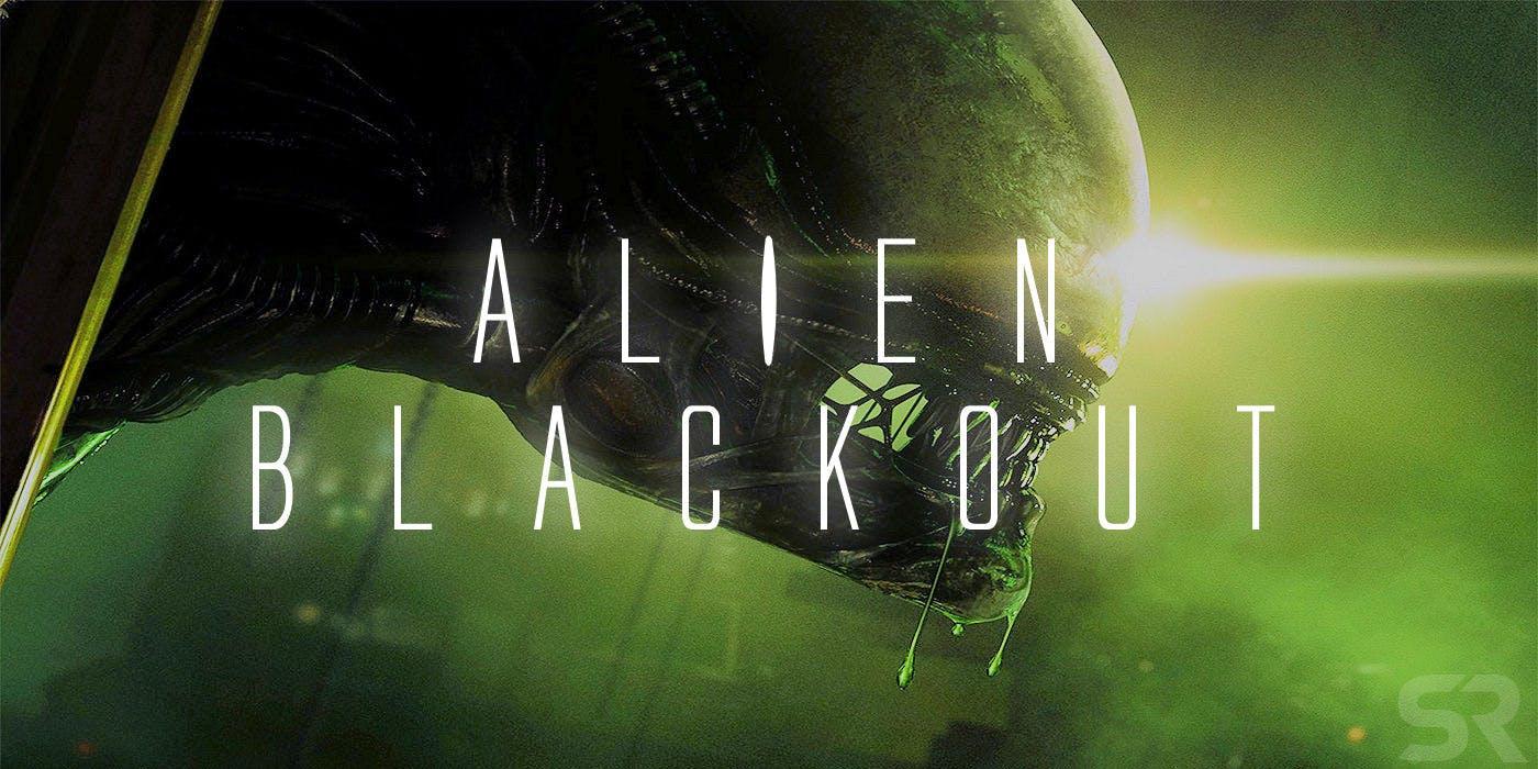 Alien Blackout Logo Screen Rant