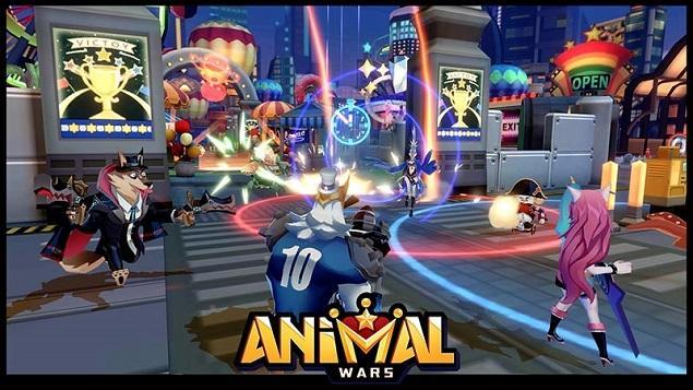 เก็บดาว ล่าแต้ม Animal Wars ชวนมันส์บนลานอารีน่า 3v3