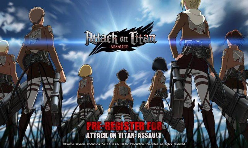 Attack on Titan: Assault เกมมือถือไททันงานภาพขั้นเทพเปิดให้ลงทะเบียน