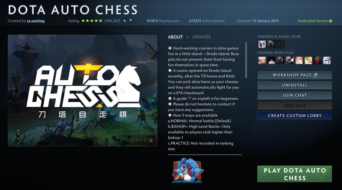Dota Auto Chess 1