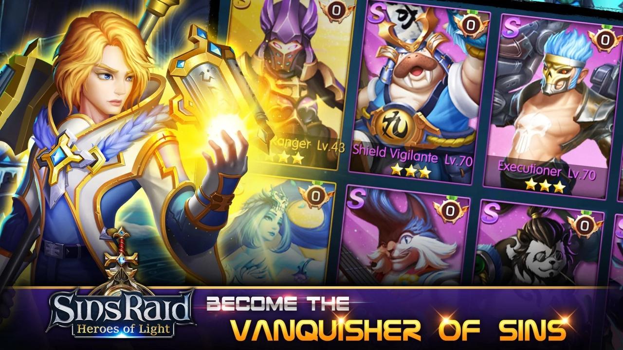 Sins Raid Heroes of Light image 1
