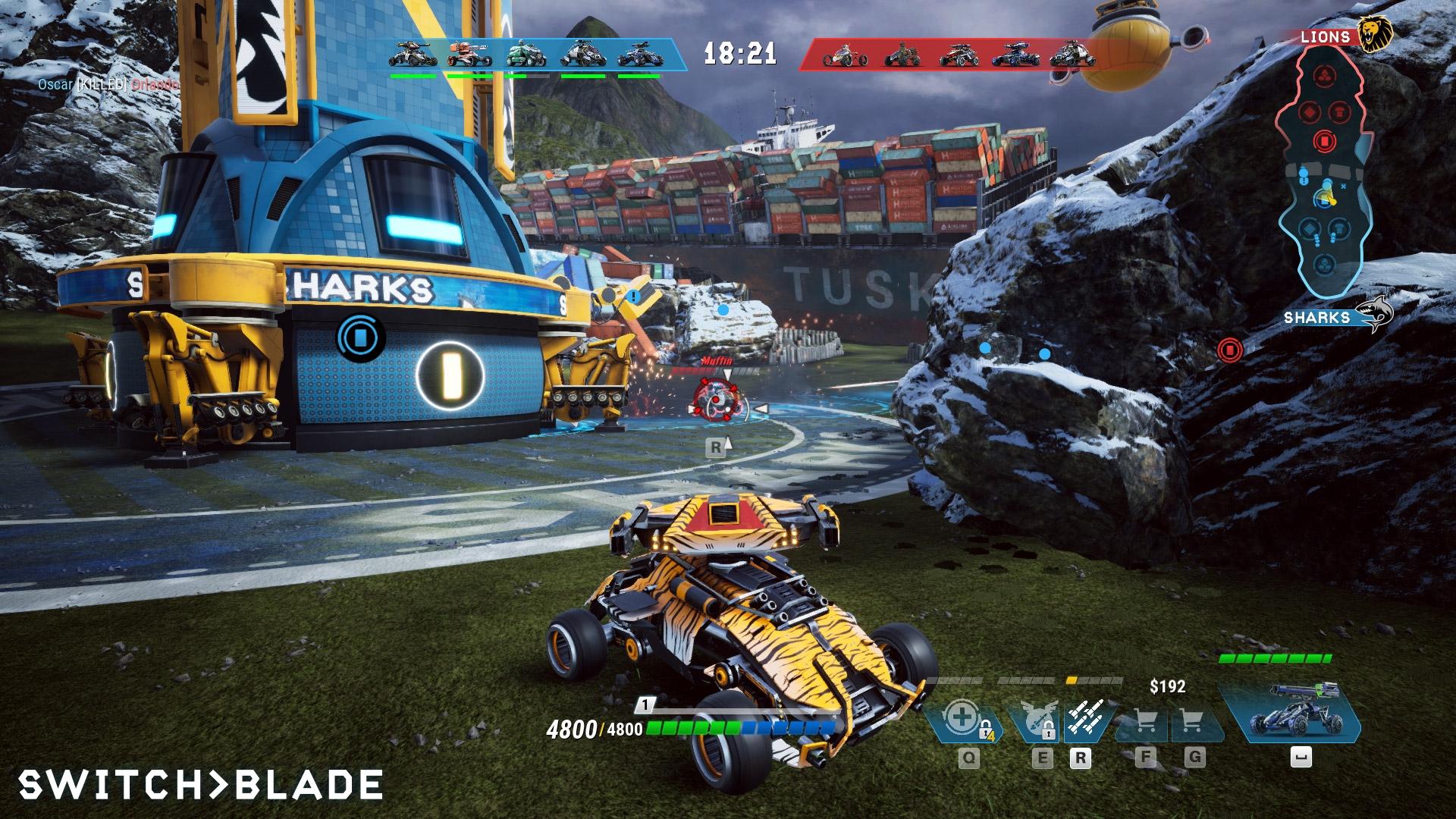 Switchblade screenshot 2