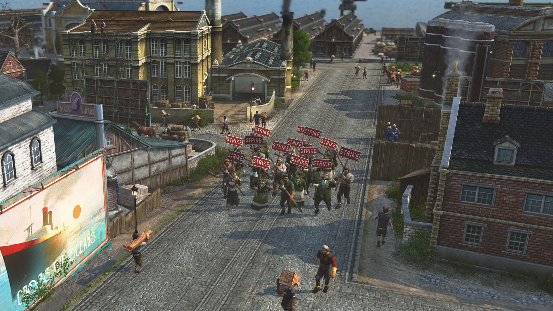 anno 1800 strike