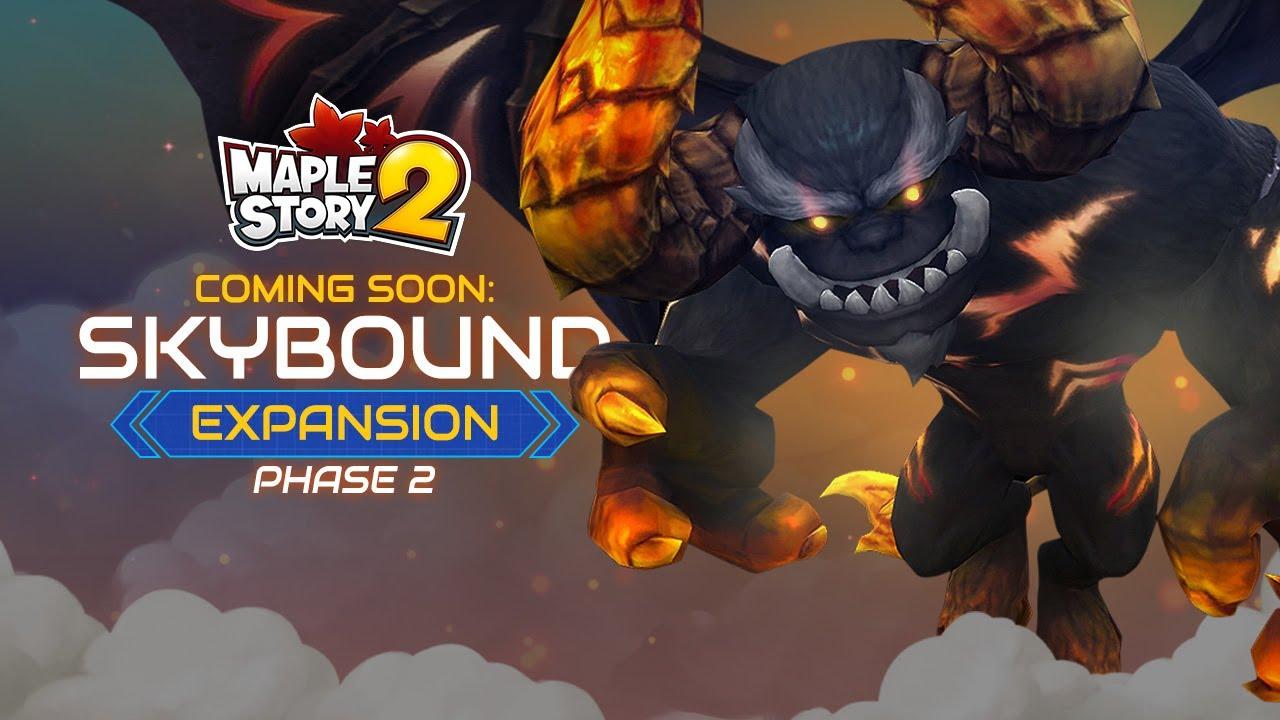 maple story 2 skybound