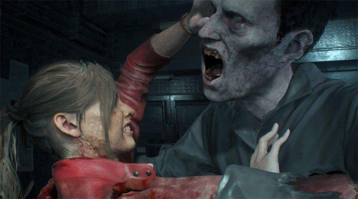 resident evil 2 remake gameplay clips