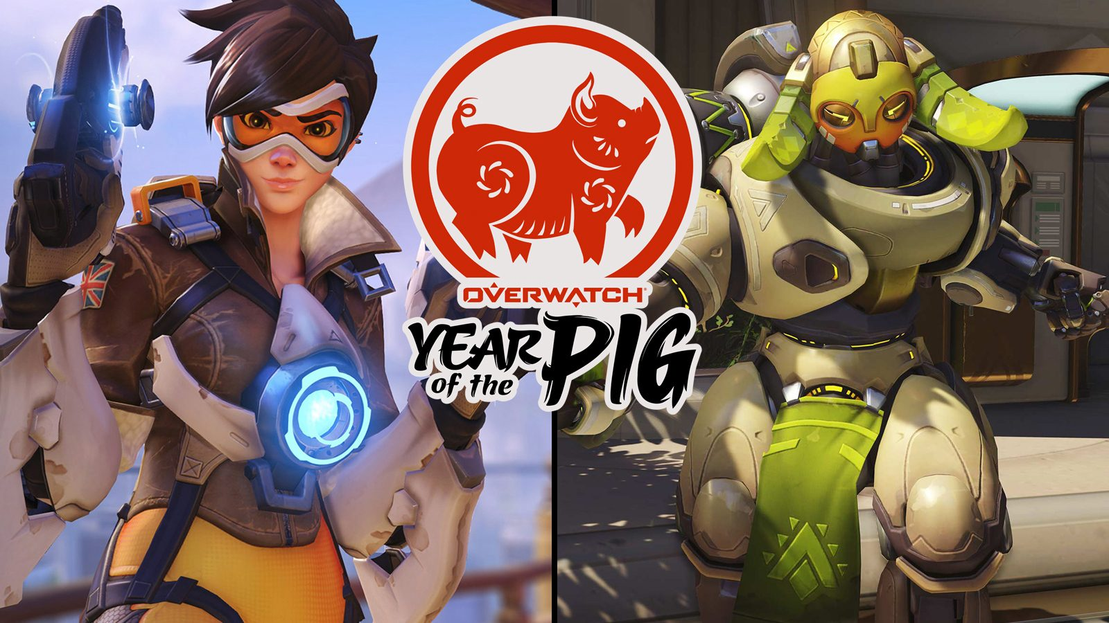 tracer orisa skins year of the pig overwatch